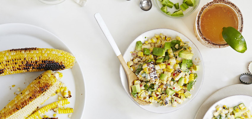 Esquites! Healthy Mexican Street Corn Salad