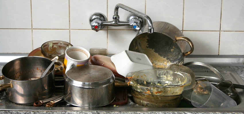 California Drought Inspires Chef To Clean Dishes Without Water
