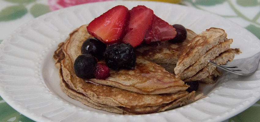 Protein-Packed Banana Pancakes (They're Gluten Free!)