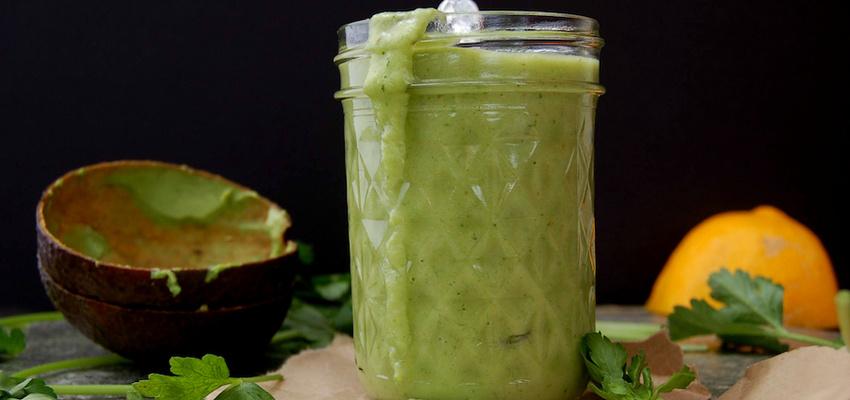 Super-Simple Green Goddess Salad Dressing