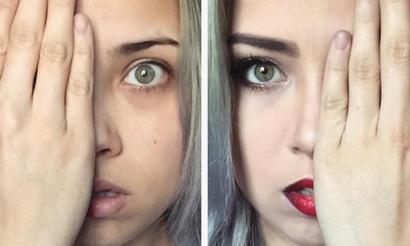 Women Say No To Makeup Shaming With Power Of Makeup Selfies Gabworthy