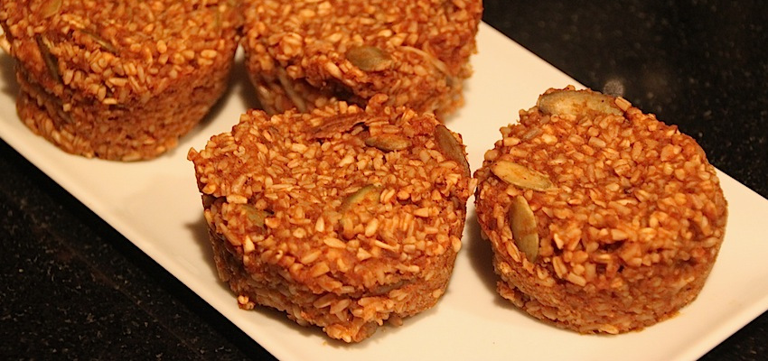 Baked Pumpkin-Spiced Oatmeal (Vegan & Gluten Free)