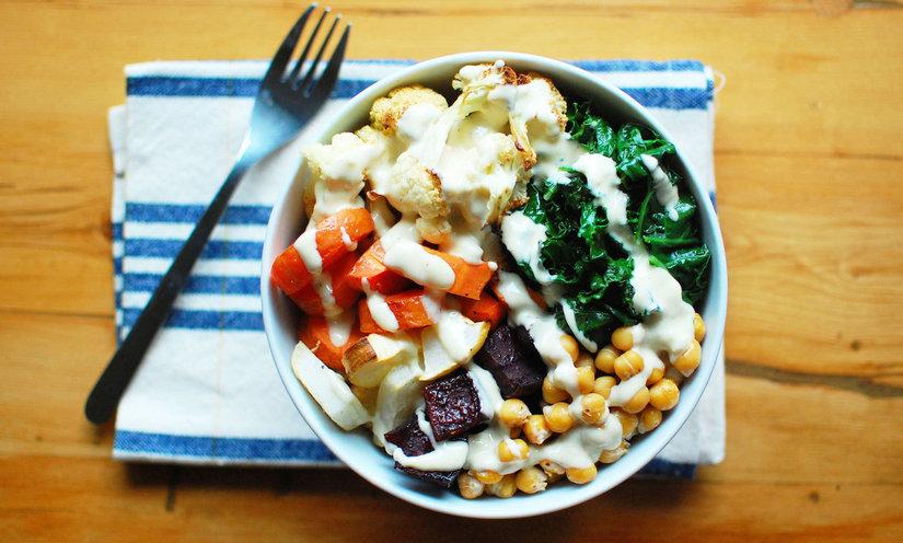 Roasted Root Vegetable Buddha Bowl (Vegan + Gluten-Free ...
