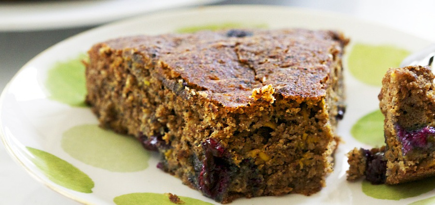 Blueberry-Zucchini Bread (Vegan & Gluten-Free!)