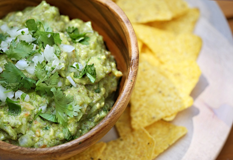 ... : How to Make a Lighter Guacamole with Superfoods by Julie Morris