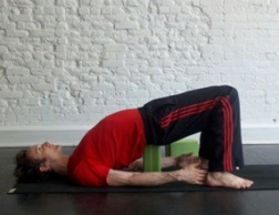 Supported Bridge Pose
