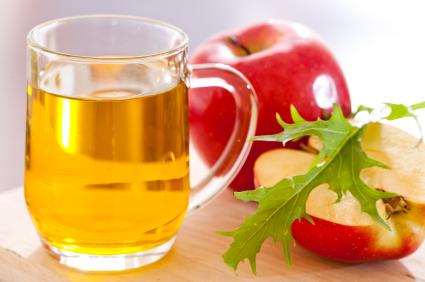 Cider gjort utav äpplen