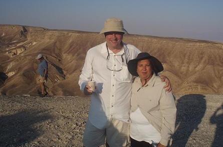 Kyle with Rita Chopra