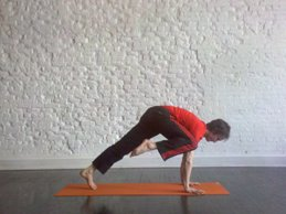 half crow pose howto tips benefits  mindbodygreen
