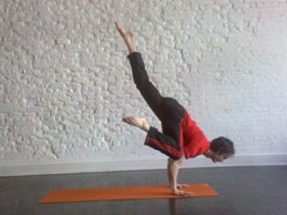 lifted half crow pose howto tips benefits