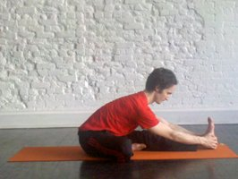 seated one leg forward bend howto tips benefits